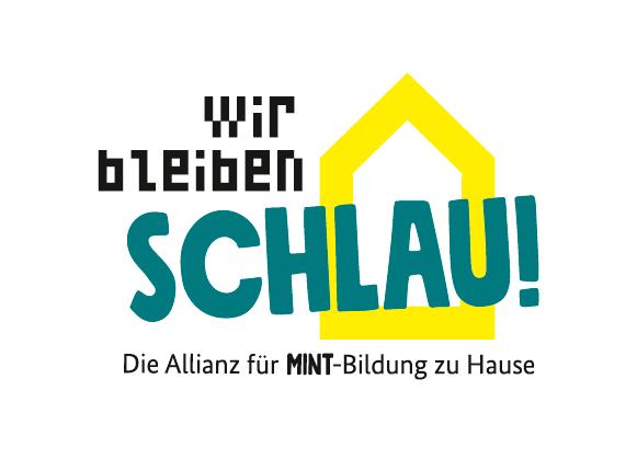 Logo der MINT-Allianz Wir bleiben schlau!