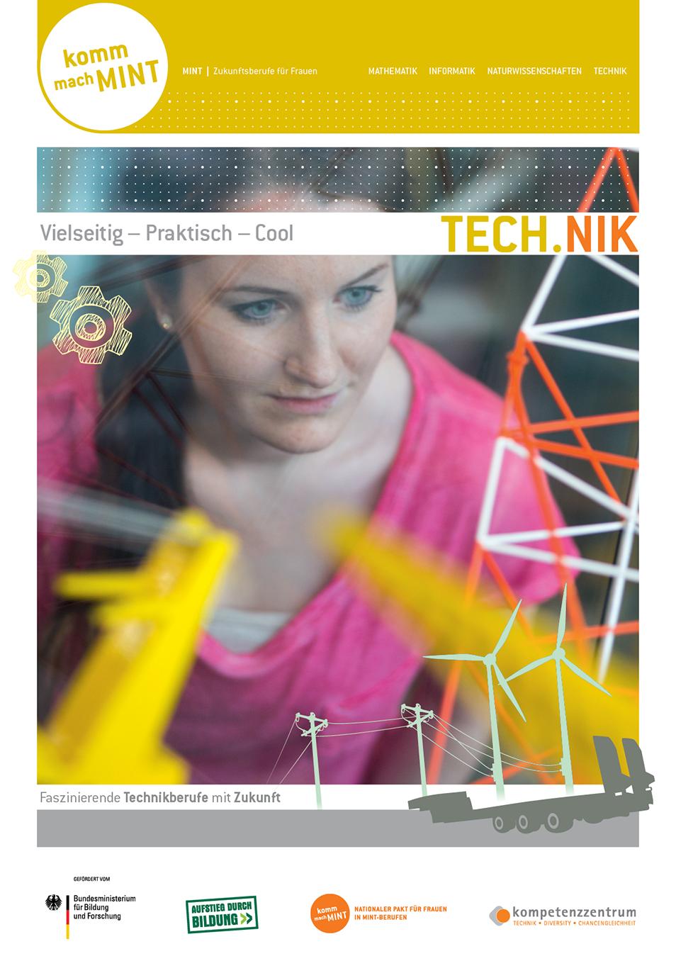 Titelbild der Technikbroschüre