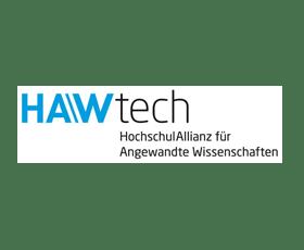 Logo HAWtech - HochschulAllianz für Angewandte Wissenschaften