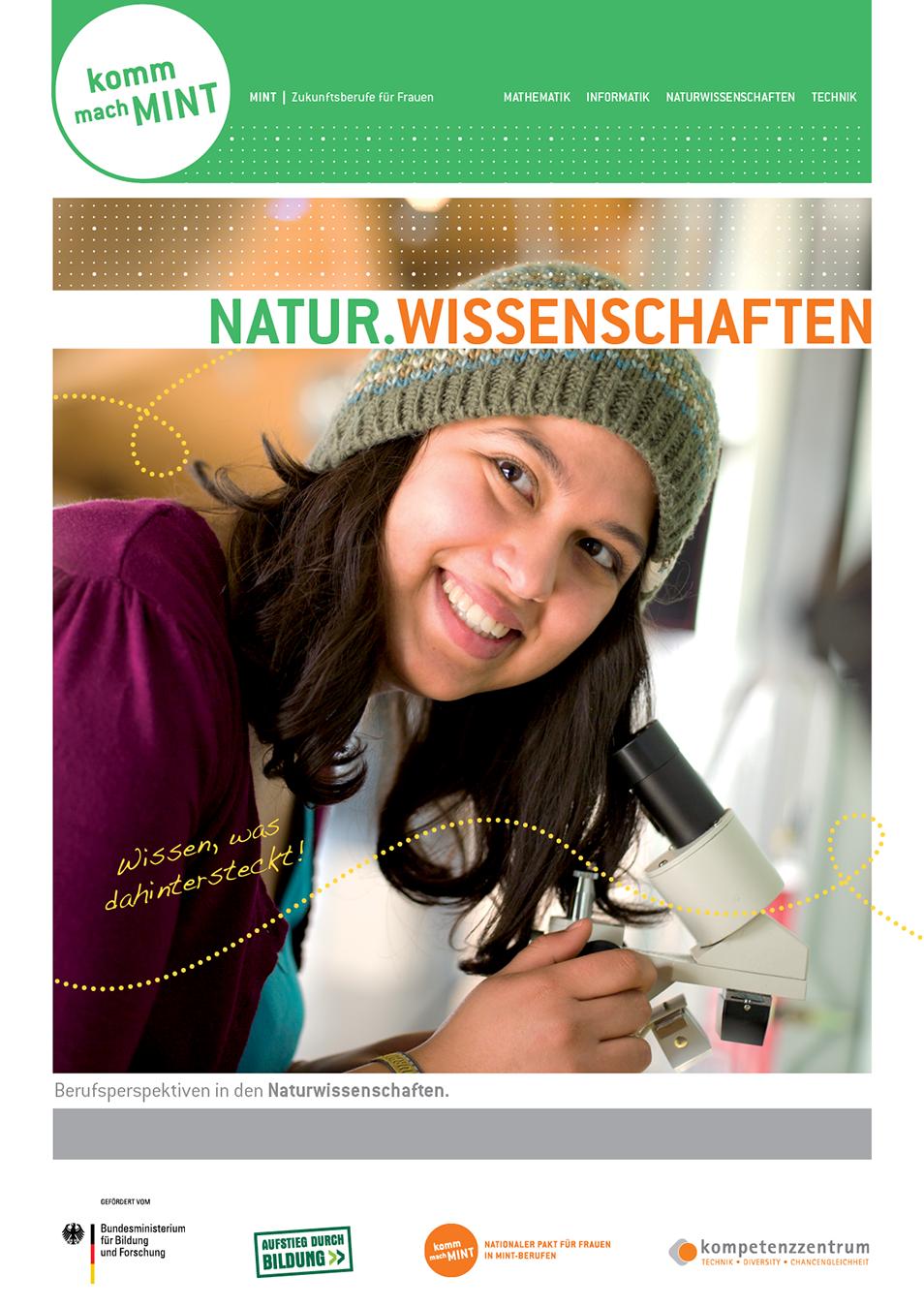Titelbild der Naturwissenschaftsbroschüre