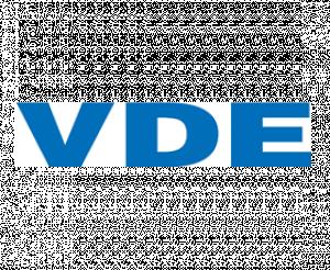 Logo Verband der Elektrotechnik Elektronik und Informationstechnik e.V. (VDE)