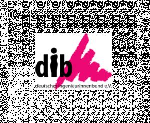Logo Deutscher Ingenieurinnen Bund - dib