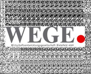 Logo Wirtschaftsentwicklungsgesellschaft Bielefeld WEGE mbH