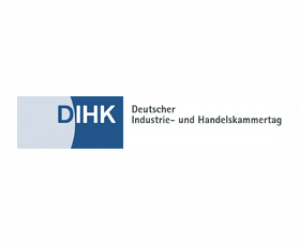 Logo Deutscher Industrie- und Handelskammertag (DIHK)