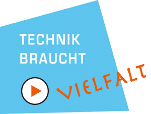 Logo Technik braucht Vielfalt